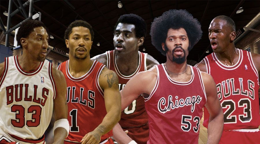 Bulls meilleur 5 all-time