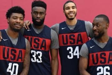 Les quatre Celtics présélectionnés pour Team USA