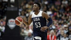NBA – Donovan Mitchell calme tout le monde après la défaite de Team USA