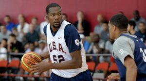 NBA – Kevin Durant pense que Team USA lui a manqué de respect en 2008