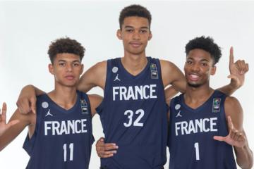 Equipe France basket U16 taille