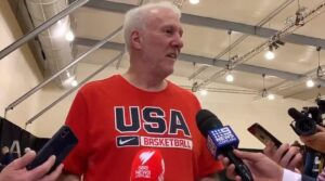 NBA – Gregg Popovich : « Nous avons tradé Patty Mills »
