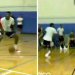 NBA – James Harden pose un trois points… sur une jambe !