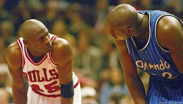 Michael Jordan Shaquille O'Neal