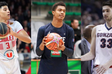 Killian Hayes, Théo Maledon et Killian Tillie : les 3 prospects français pour la Draft 2020