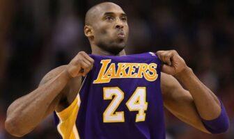 Demande solennelle Kobe Bryant aux fans des Lakers
