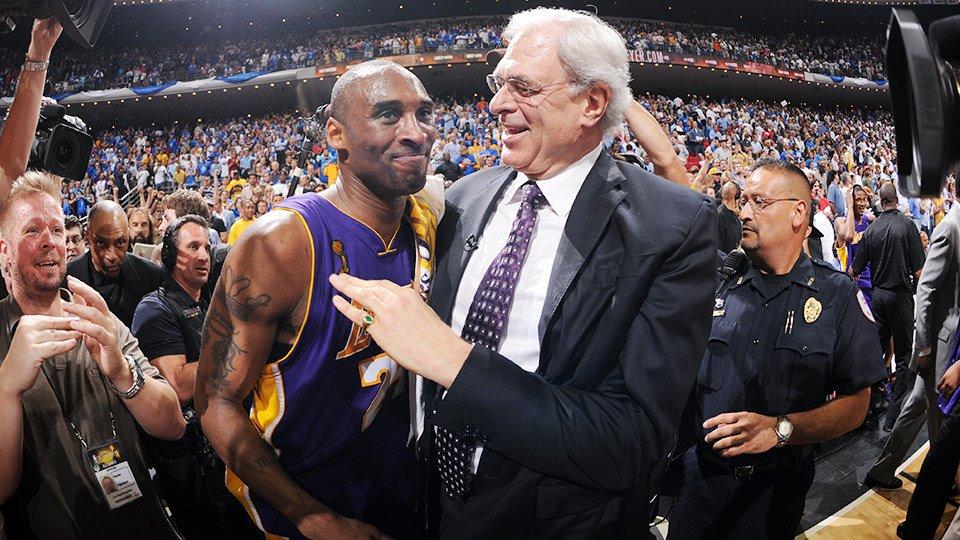 Kobe Bryant Phil Jackson