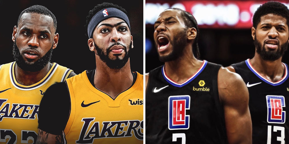 Lakers Clippers meilleure equipe
