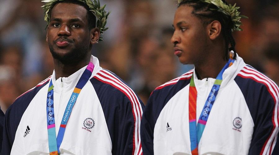 médaille bronze team usa 2004