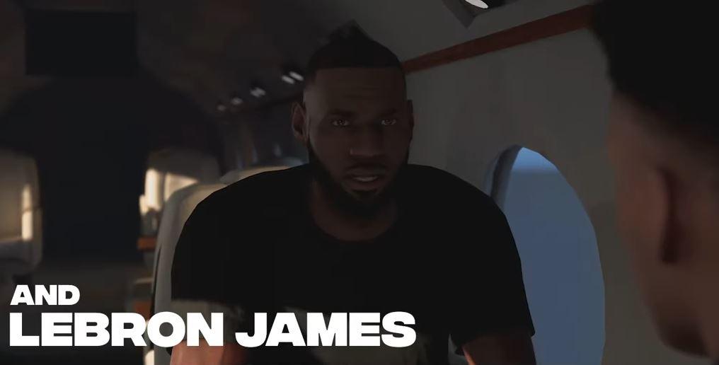 LeBron James dans 2K20