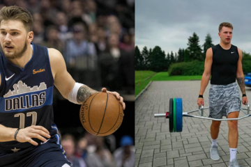 Luka Doncic poids muscles