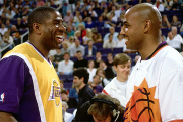 Le superbe geste de Charles Barkley pour Magic Johnson en 1991