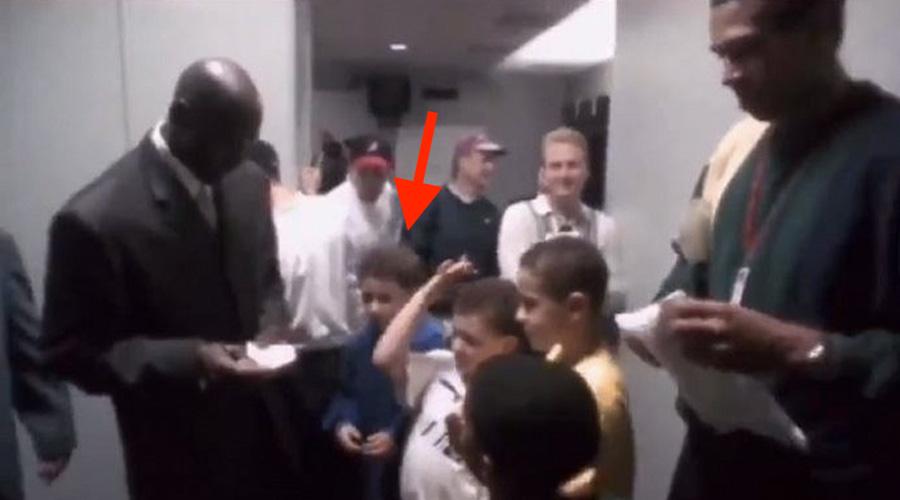 klay thompson vidéo michael jordan