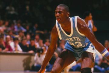 Michael Jordan Tar Heels