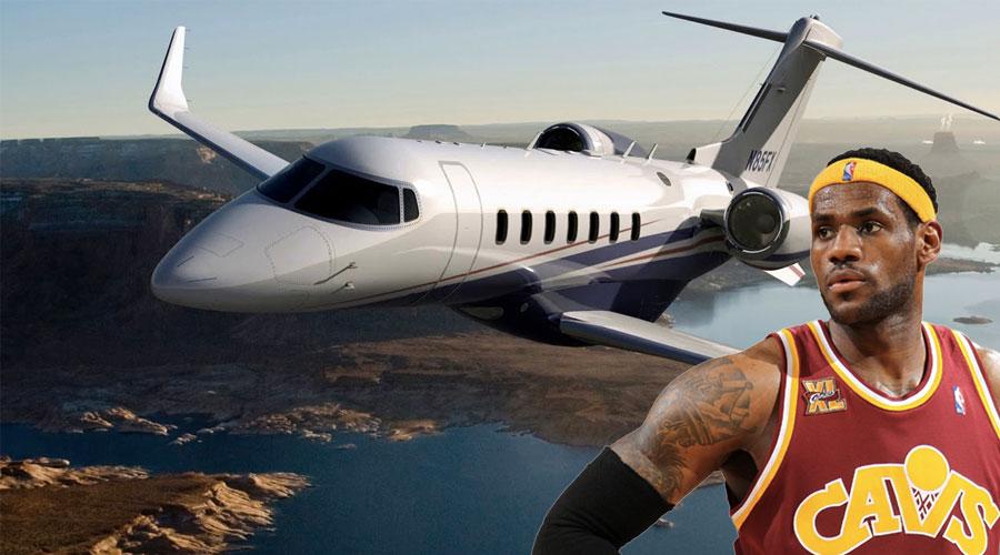 jets privés avions nba joueurs