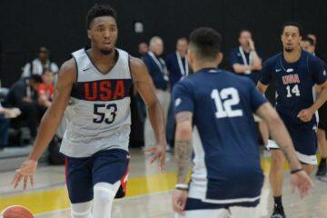 Donovan Mitchell Team USA
