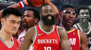 NBA – Jeu : Compose le meilleur 5 all-time des Rockets