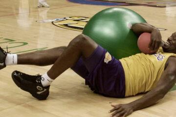 Shaquille O'neal nu basket