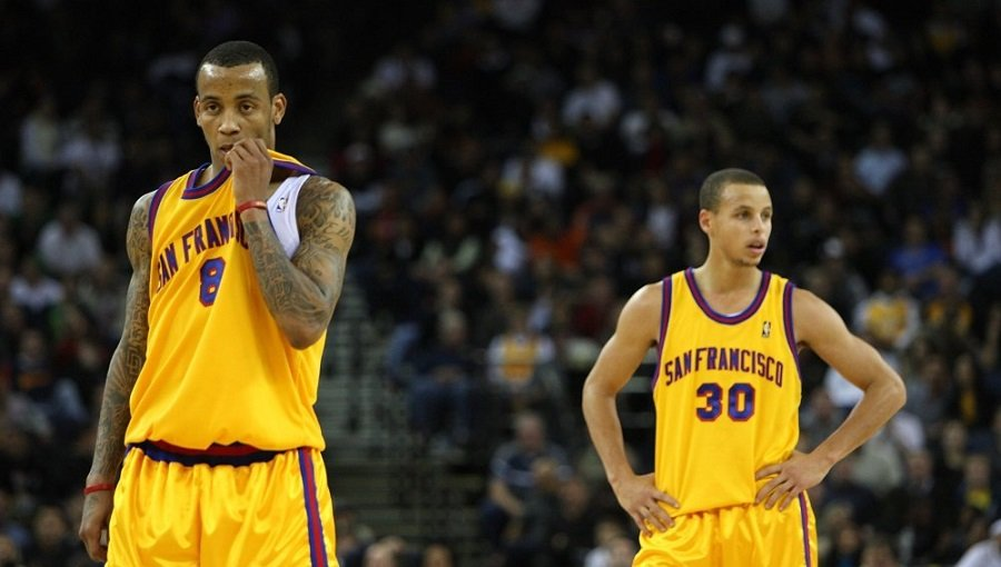 stephen curry monta ellis warriors