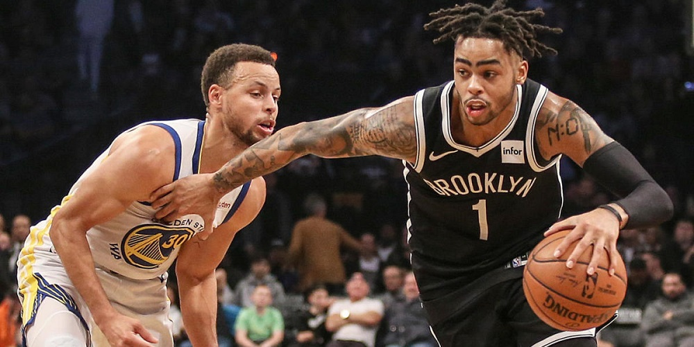 steph curry complimente d'angelo russell