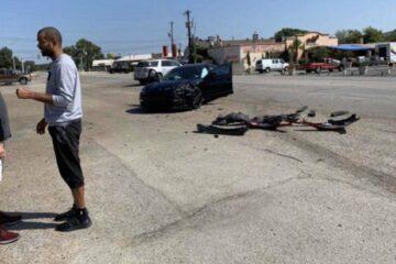 Tony Parker car crash