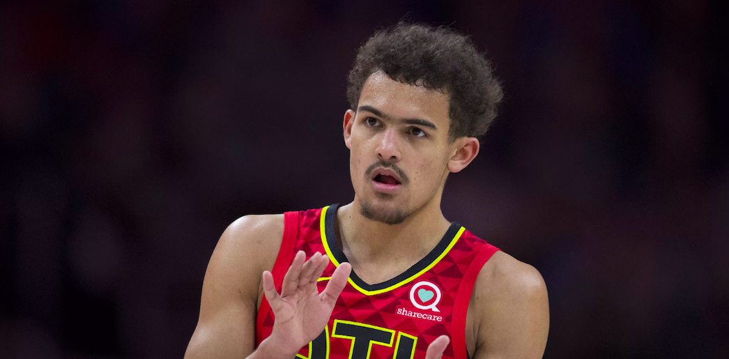 Trae Young Hawks nba