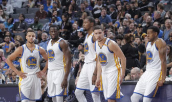 Warriors NBA Hamptons Five