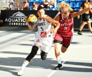 Meneuse de Basket Landes elle est aussi joueuse de l'EDF 3x3