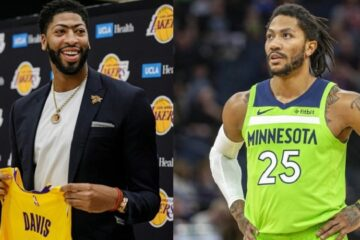 Anthony Davis admire Derrick Rose