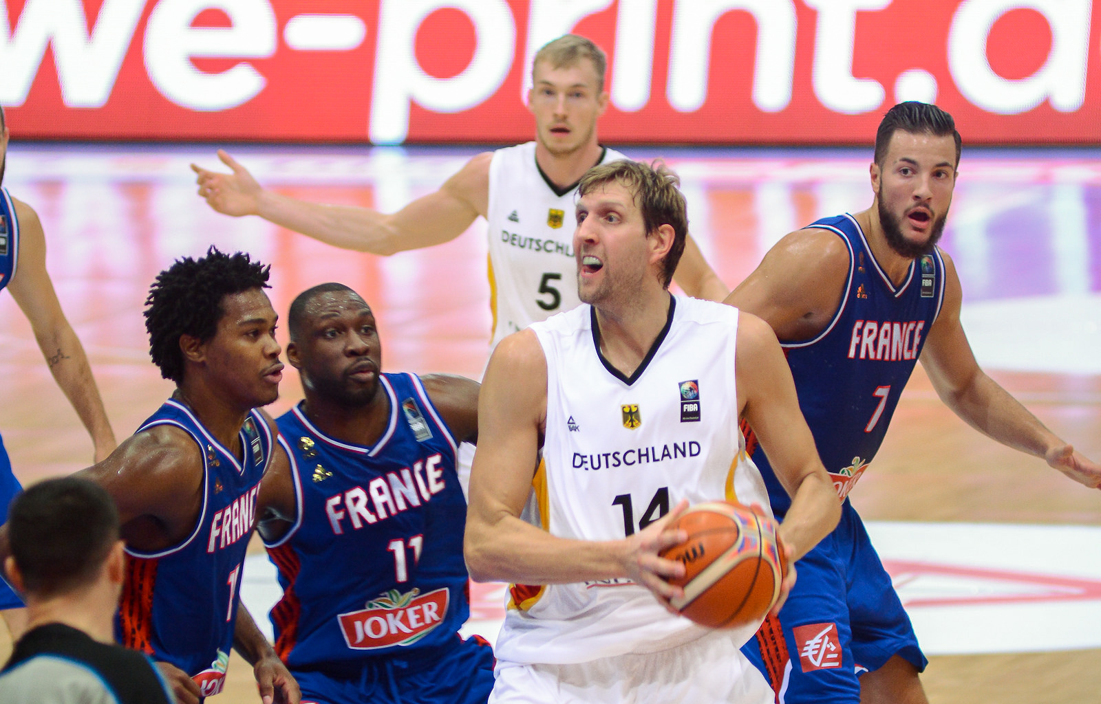 Dirk Nowitzki France