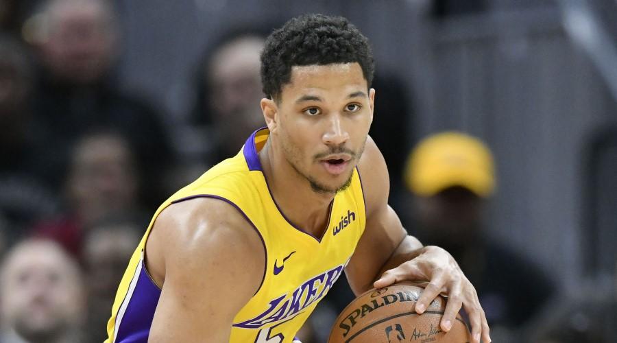Josh Hart tacle les Lakers