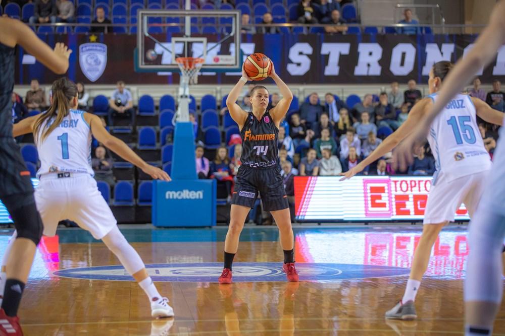 Marie-Eve a disputé l'Euroleague la saison dernière