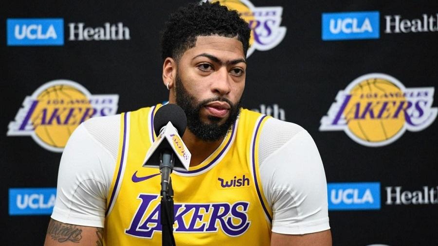 Anthony Davis Lakers Pelicans