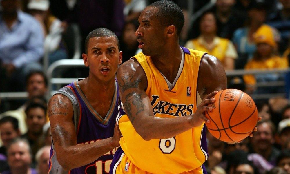 Raja Bell Kobe Bryant