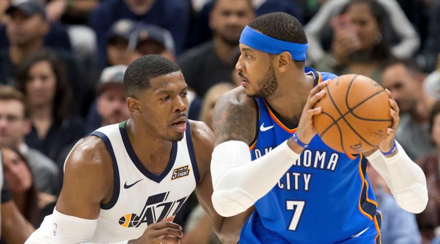 Joe Johnson Carmelo Anthony Rockets