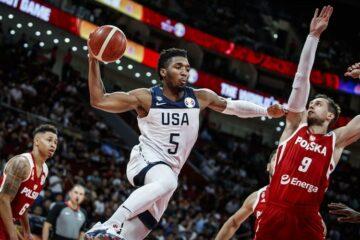 FIBA Donovan Mitchell Pologne