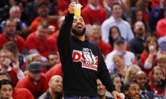 Drake NBA Finals