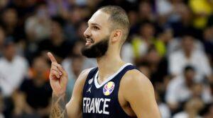NBA – Evan Fournier taquin après la victoire des Bleus contre l'Argentine