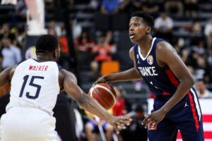 NBA – Frank Ntilikina explique son coup de chaud face à Team USA