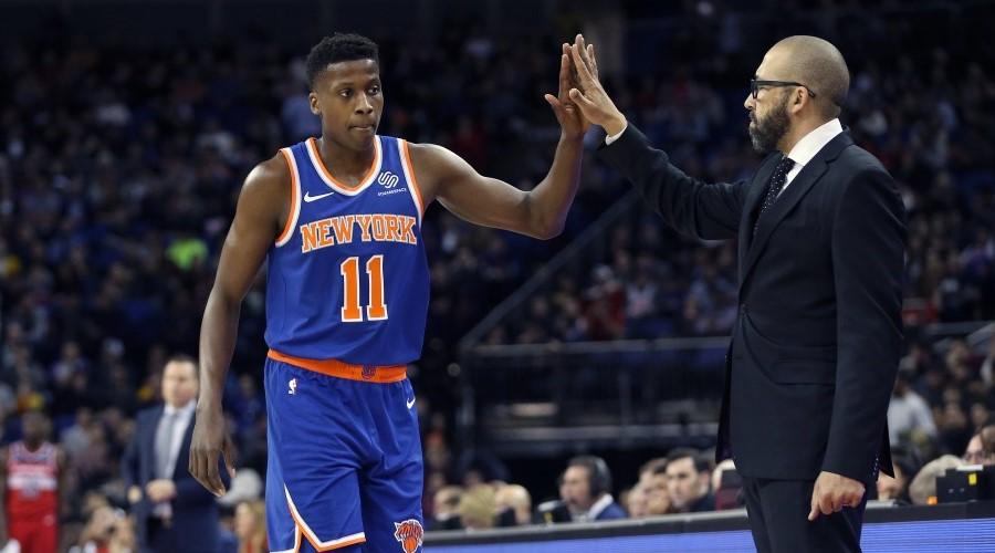 Frank Ntilikina Knicks
