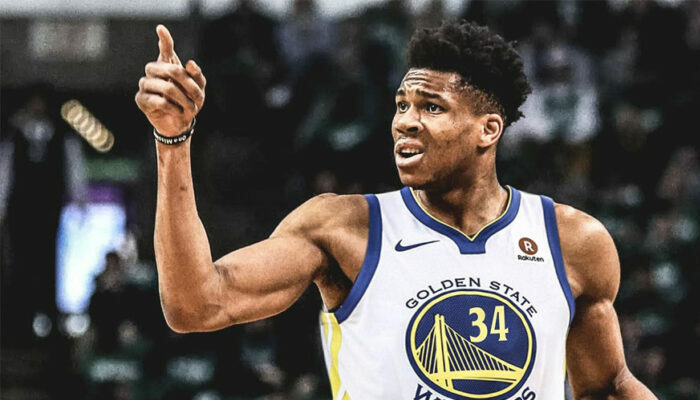 Giannis Antetokounmpo Warriors