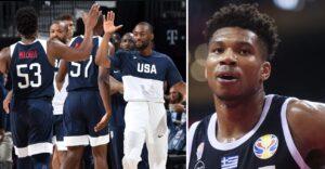 Mondiaux – Les joueurs de Team USA pas affolés par Giannis avant le choc