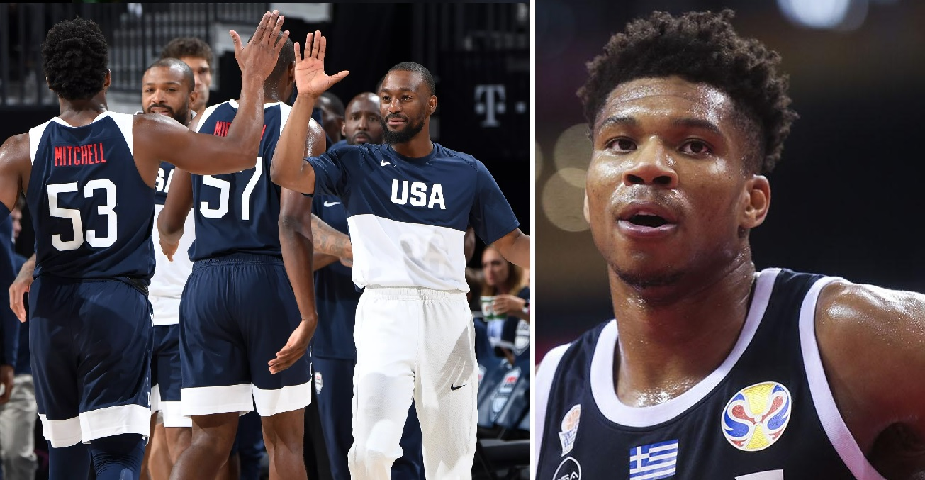 Giannis USA Mitchell Walker