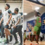 High School/NBA – Le colosse Jahzare Jackson, protégé de LeBron, punit un insolent