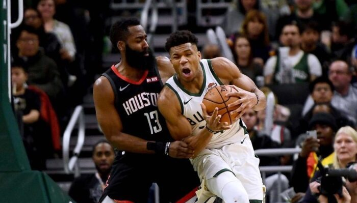 James Harden colère MVP Giannis