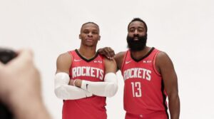NBA – James Harden et Russell Westbrook font le point pour les JO de 2020