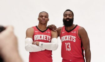 Russell Westbrook James Harden Rockets