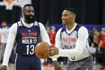 James Harden association Russell Westbrook