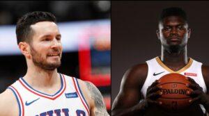 NBA – JJ Redick avertit Zion Williamson de ne pas lui ruiner sa série