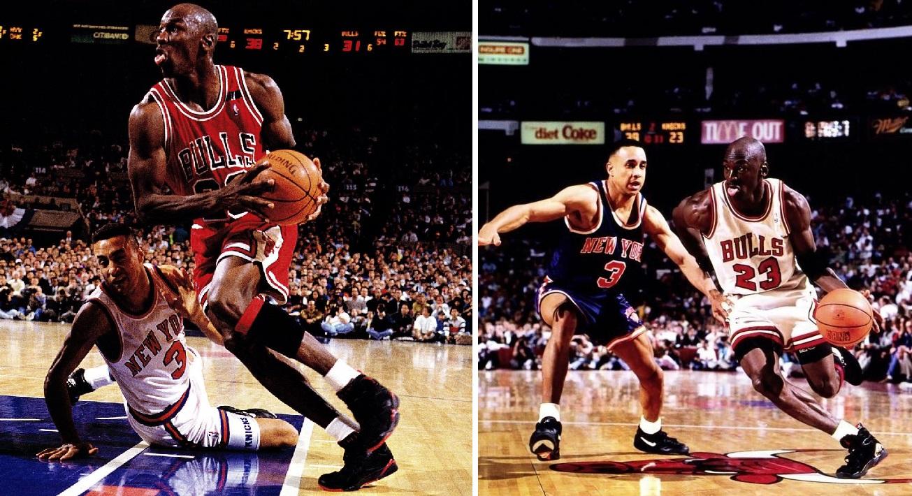 Michael Jordan John Starks